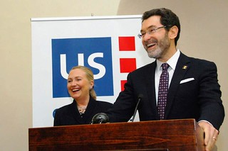 Secretary Clinton Is Introduced By Ambassador Eisen | by U.S. Department of State