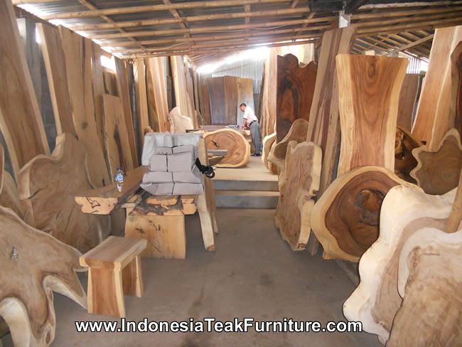 ... itfdt1-15-dining-table-suar-wood-bali  by balifurnish