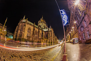 St. Giles at night, the Royal Mile, Edinburgh, Scotland | by Lisa Bettany {Mostly Lisa}