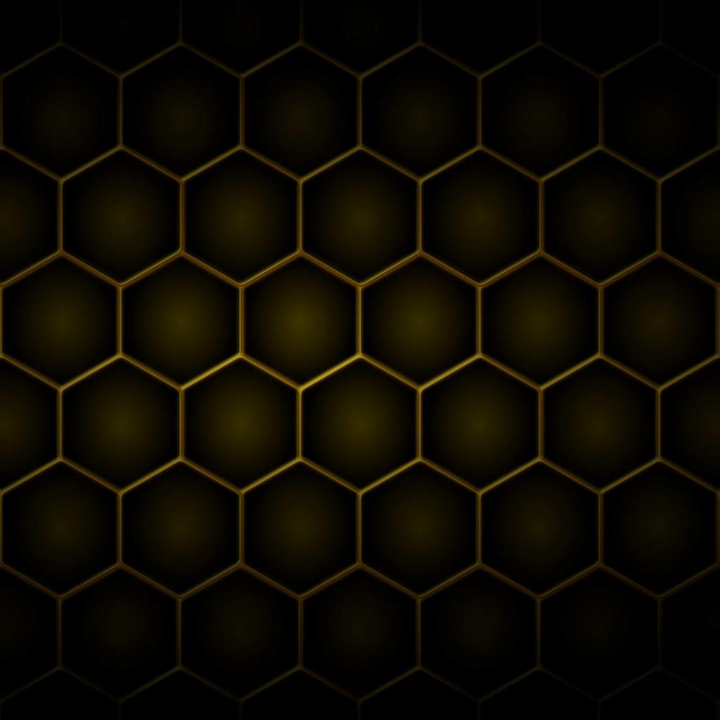 Metallic Hexagons | 2048 x 2048 pixel image for the 3rd ...