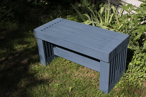 Slat Bench (Painted) | by rgdaniel