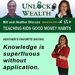 Bill and Heather on Unlock Your Wealth | by FamZoo