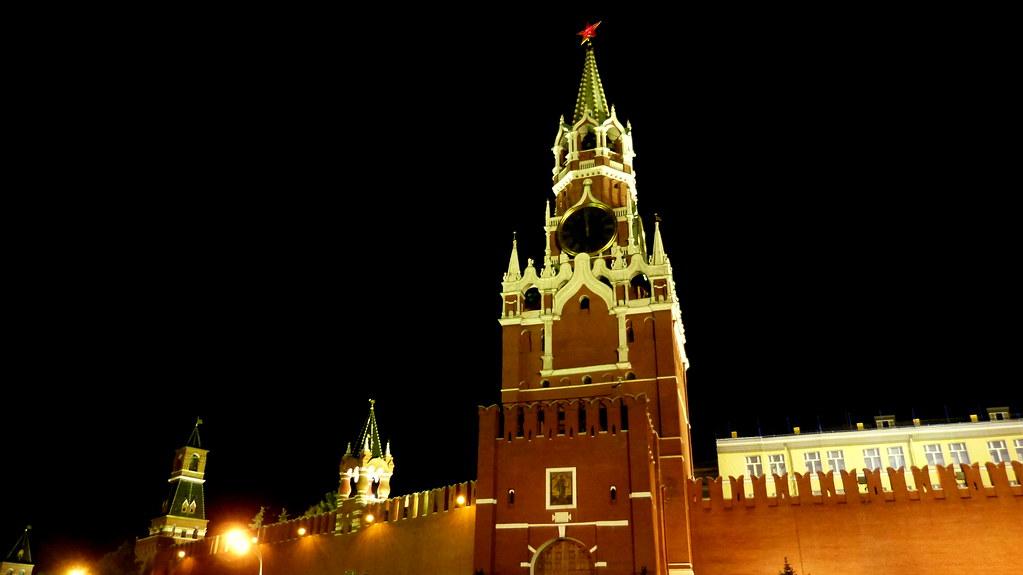 Torre del salvador en el kremlin de moscu del salvador for Architecture russe