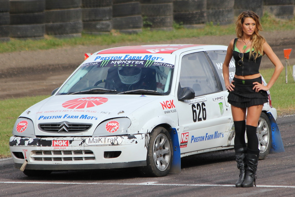 Monster Energy Grid Girls Lydden Hill Paul Thompson Flickr