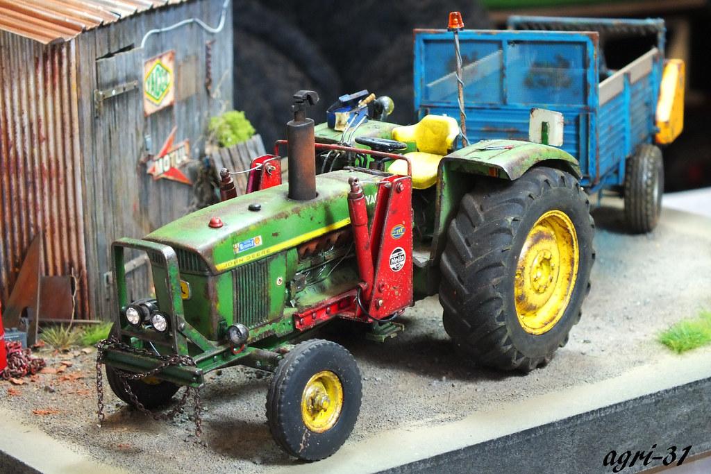 Exposition miniature agri 31 flickr - Tracteur ancien miniature ...