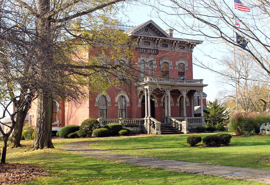 Perkins Mansion Warren Ohio Perkins Mansion 391 Mahoning Flickr