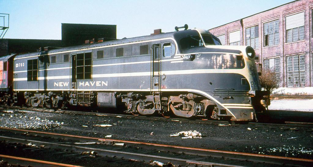 New Haven Railroad Der 1a Alco Dl 109 Locomotive 0703 I