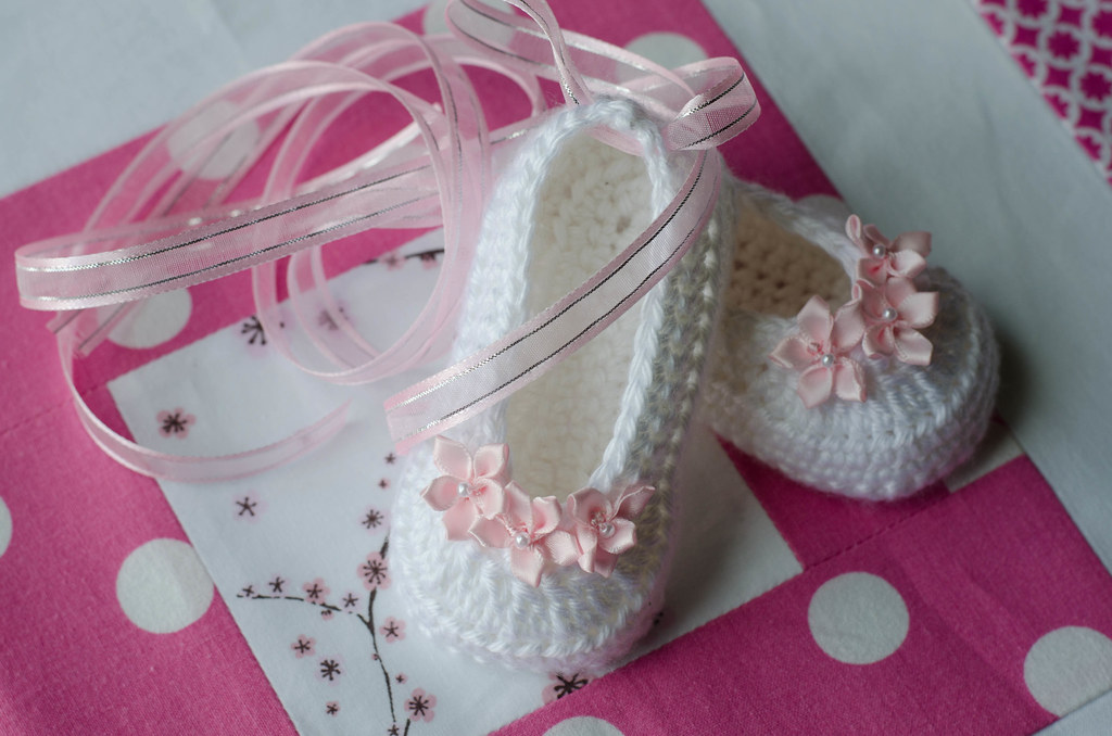 Crochet Ballet Slippers Pattern By The Lovely Crow Flickr