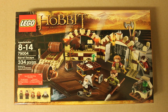 LEGO The Hobbit Barrel Escape (79004)   Flickr - Photo Sharing!