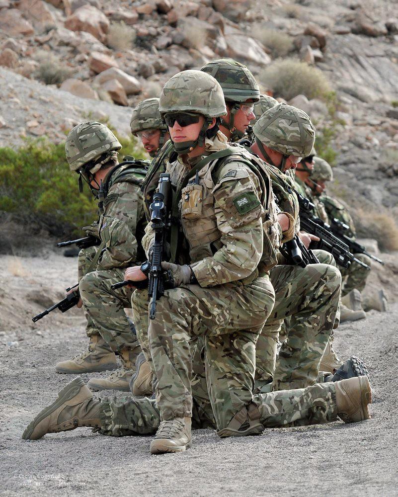 Royal Marines On Exercise Royal Marines With 42 Commando