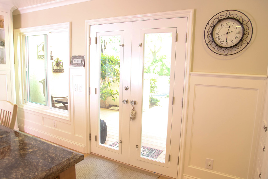 Home remodel french doors in kitchen aplus interior design amp remodeling flickr
