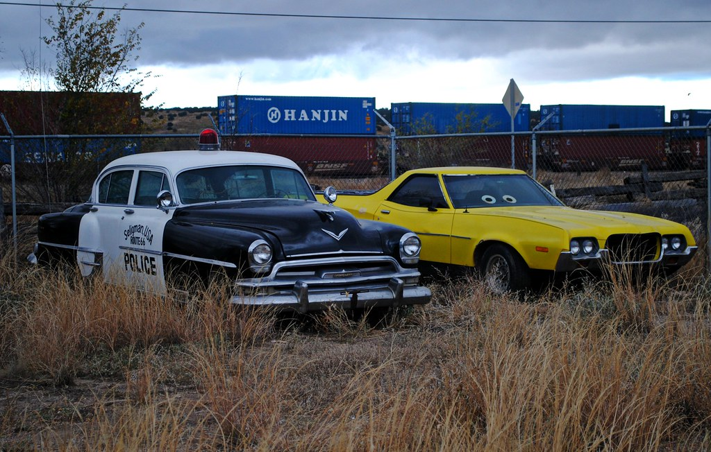 All Car Company >> Pulled over in Radiator Springs, Arizona. | Cragin Spring | Flickr