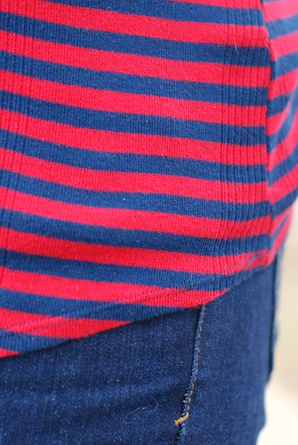 11302012 anthropologie striped shirt red and blue for Red blue striped shirt