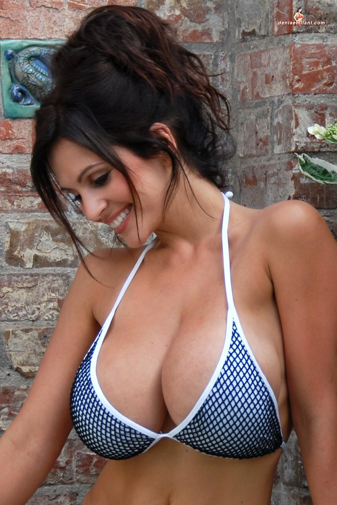 Wet clothes busty girls