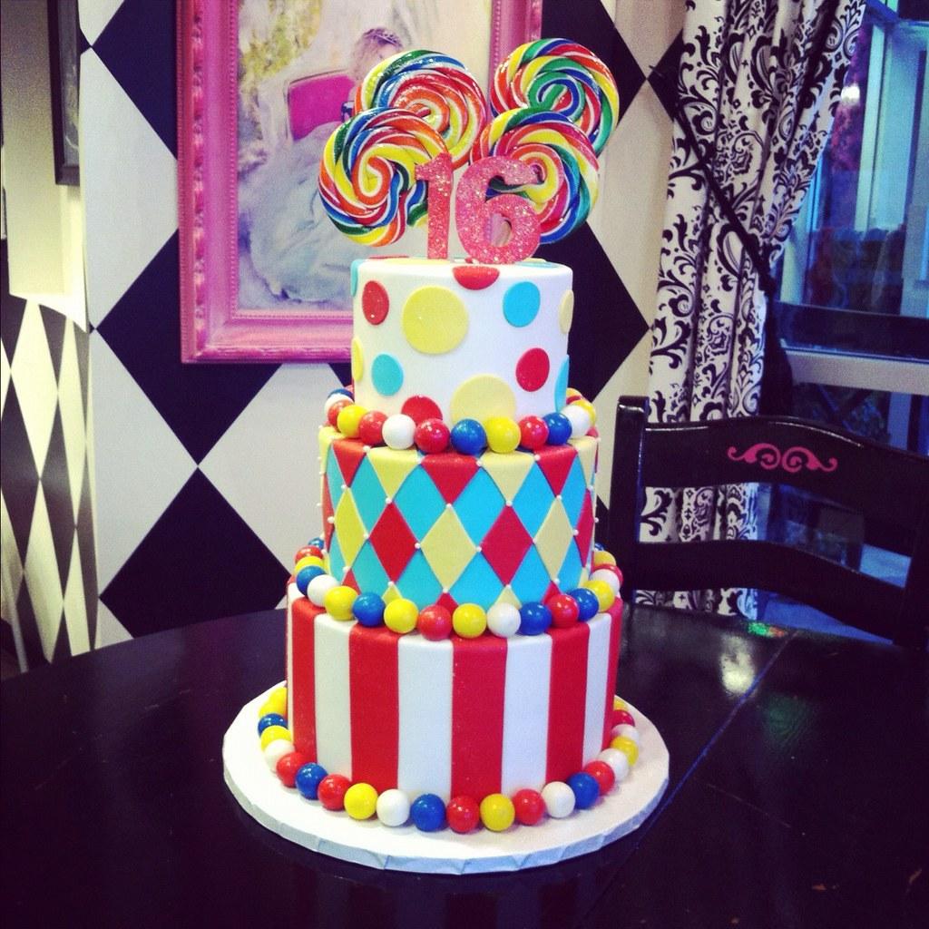 Easy Circus Cake