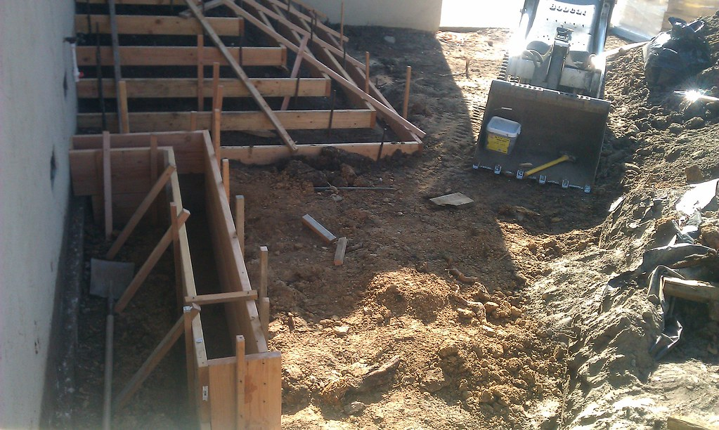 Concrete Forms For Stairs Oakland All Access 510 701 440