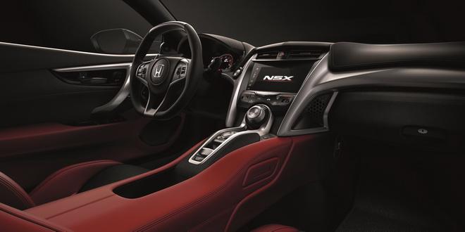 2016 Honda NSX_interior2
