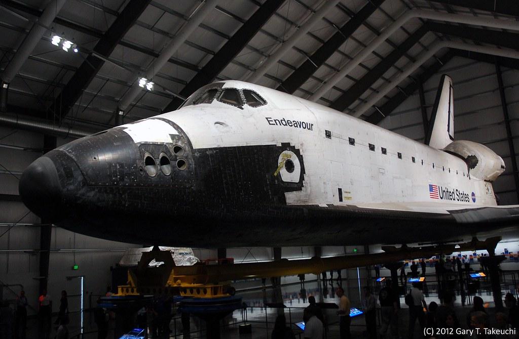 samuel oschin space shuttle endeavour display pavilion events - photo #4