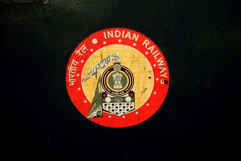 Indian Railways Logo Indian Railways Logo Flickr