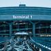 CDG - Charles de gaulles - Terminal Un - Paul Andreu