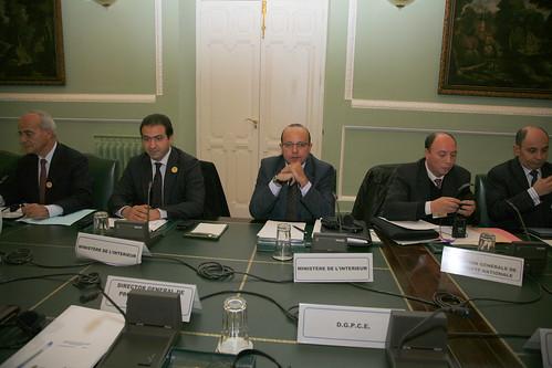 El subsecretario del ministerio del interior luis aguiler for Director de seguridad ministerio del interior