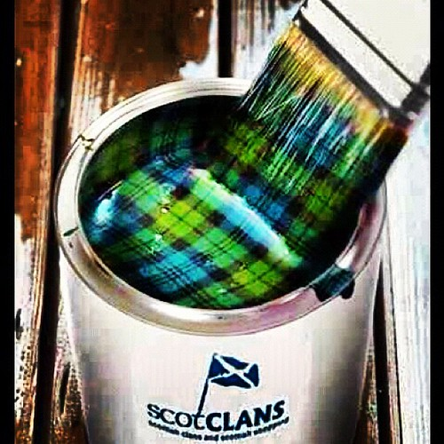 tartan paint amp there s me thinking it was just a myth t flickr