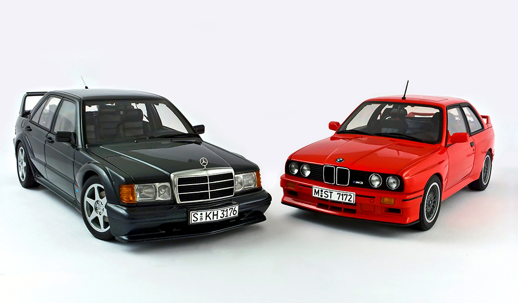 Mercedes Benz E190 Evo2 BMW M3 E30 Sport Evolution | Flickr