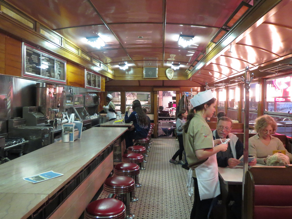 Prefab 50s Diner Inside Of The Museum Henry Ford Museum