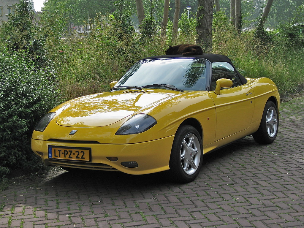 1995 fiat barchetta cabrio with sleeping cat 1747 cc. Black Bedroom Furniture Sets. Home Design Ideas