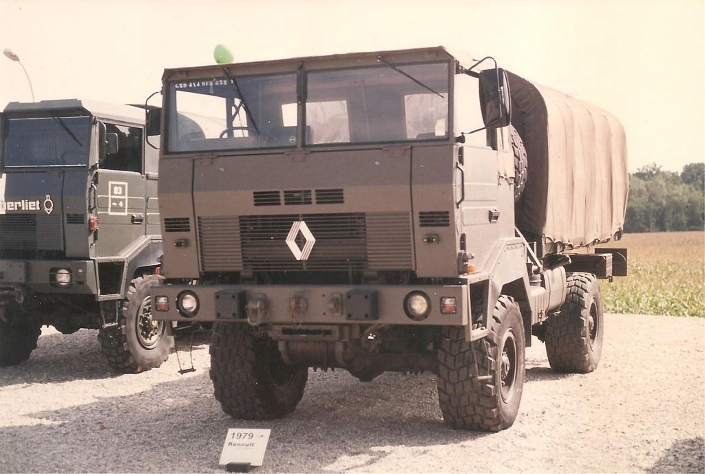 N°21- Berliet GBD 4X4 Camion tactique Militaire 1974 8259828511_8603cb778b_b