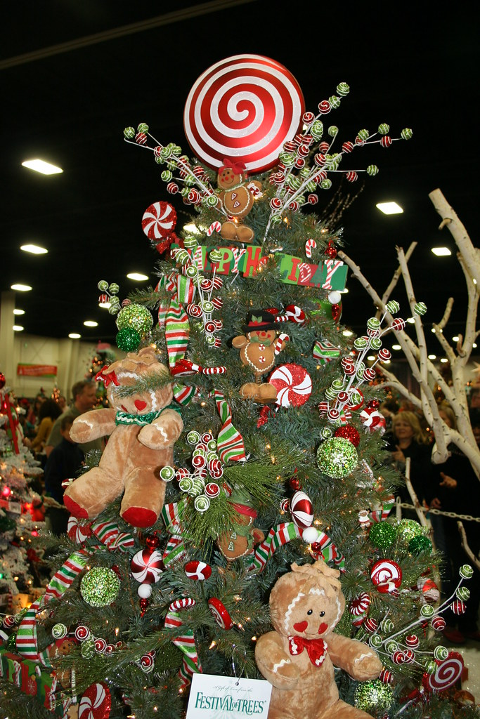 Festival Of Trees Gingerbread Christmas Tree Gingerbread