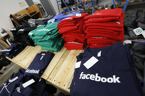 Facebook clothes at company store | by Robert Scoble