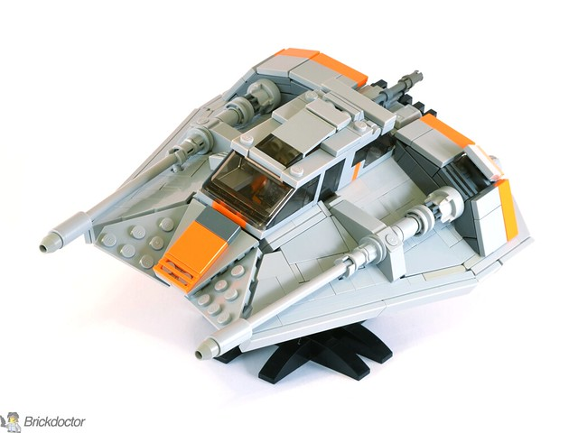 T-47 Snowspeeder, 2016 Edition, by Brickdoctor, on Eurobricks