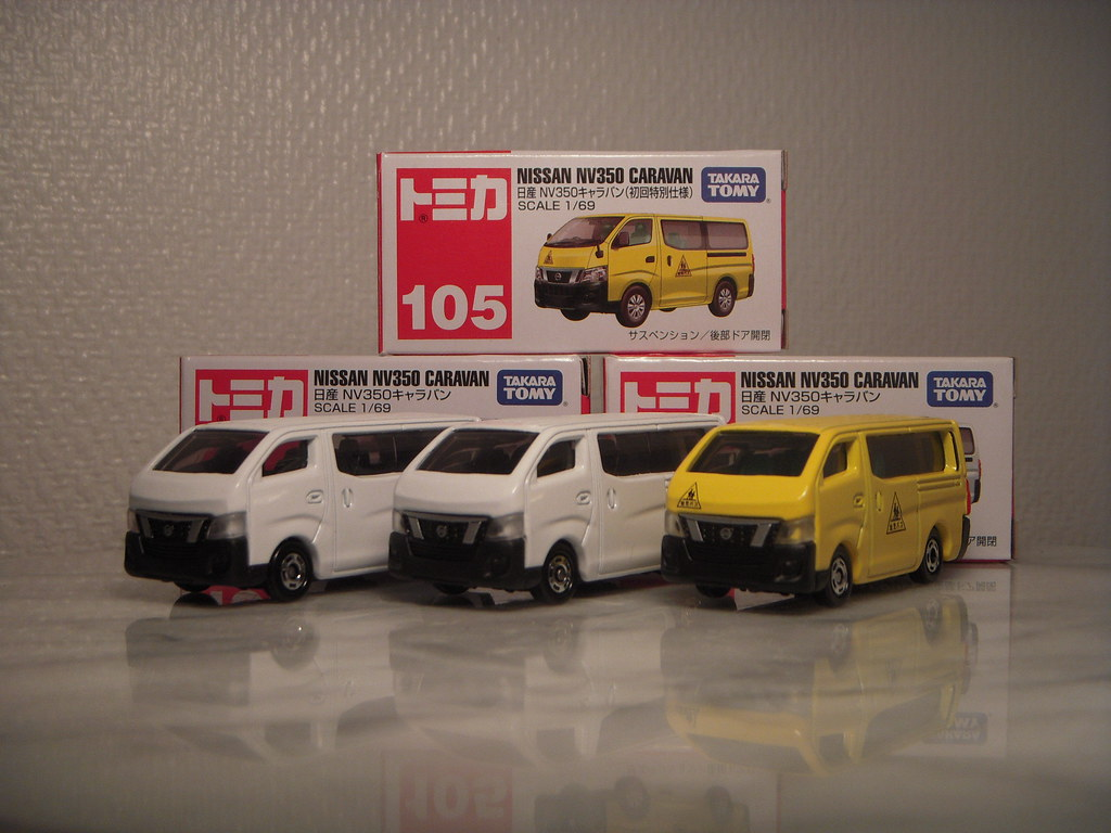 Nissan Nv350 Caravan E26 1 69 Diecast By Tomica One Of M Flickr