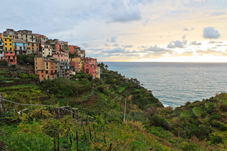 The Village, the Vineyards and the Sea (Corniglia in Cinque Terre, Italy) | by Maria_Globetrotter