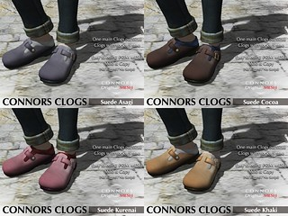 Clogs suede | by *Connors*