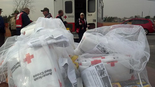 Relief Supplies - Long Island, NY | by American Red Cross