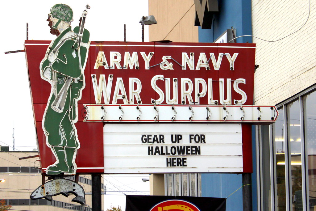 2 reviews of Battleground Army Surplus