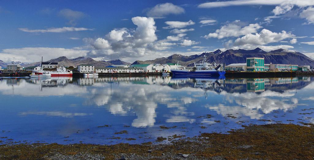 Hornafj 246 R 240 Ur H 246 Fn Harbour Iceland The Town Of H 246 Fn
