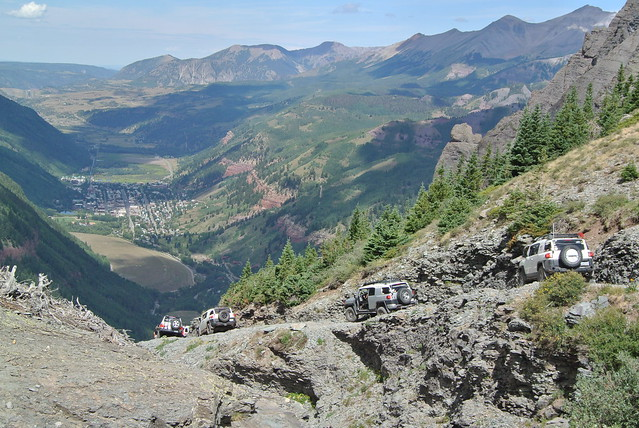 Black Bear pass Colorado by Toyota Cruisers & Trucks Magazine
