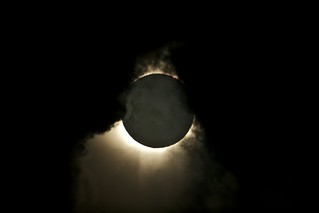 Totality through cloud | by 130GT