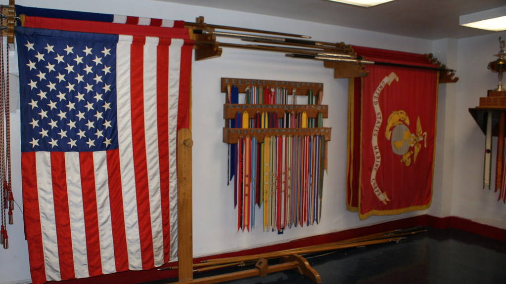 Honor Guard Flags and Ribbons (1 per battle, 53 total) | Flickr