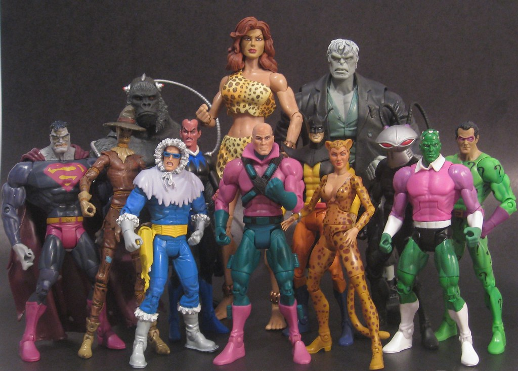 Legion Of Doom Toys 99
