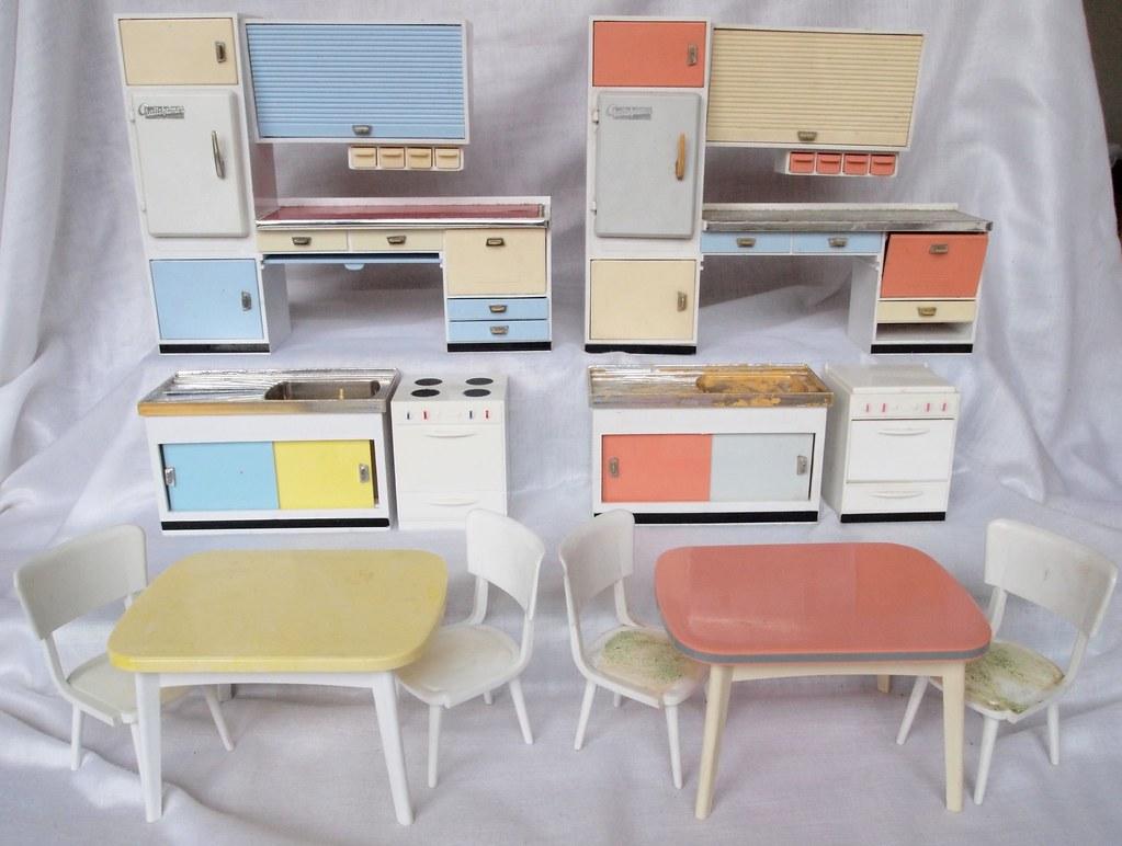 Sympathisch Küchenfarben Ideen Von Diepuppenstubensammlerin 1962 Crailsheimer Küchen Farben | By