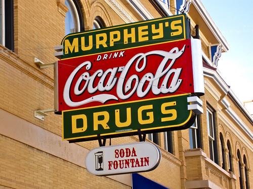 Murphey S Drugs Las Vegas Nm Murphey S Drug Store Sign