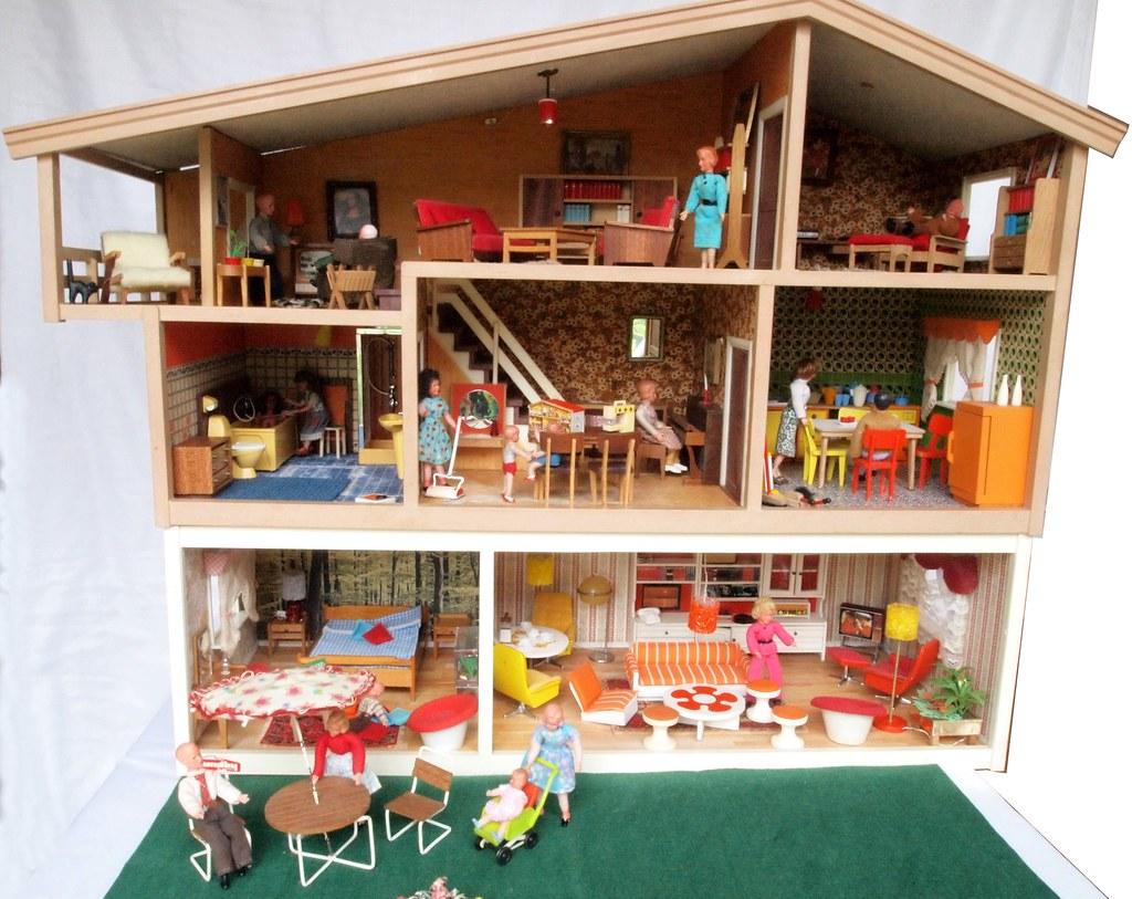 Hanse lundby puppenhaus wei mit garten 2 - Maison de poupee lundby ...