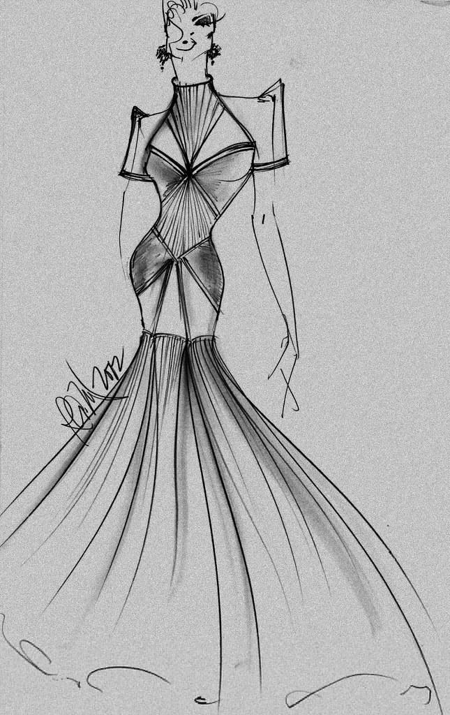 Modern filipiniana gown by PAUL REX MATEO | Paulrexm | Flickr