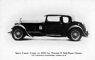 1930 Rolls-Royce Phantom II Sports 4-Seater Coupe | by aldenjewell