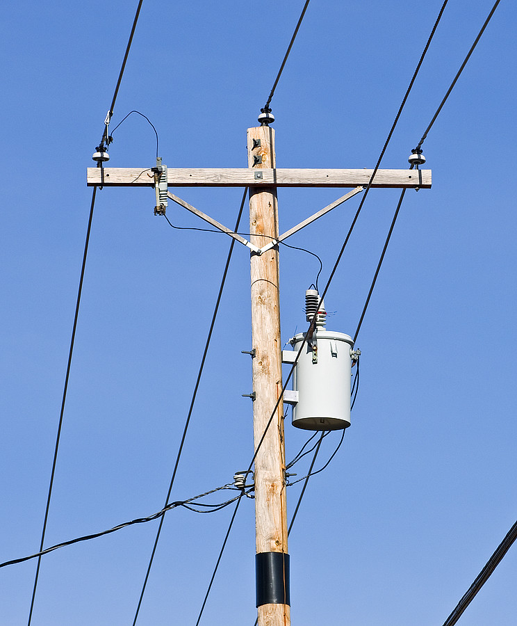 New Upgraded Indiana Michigan Power Utility Pole | Fort ...