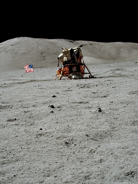 Apollo 17 Lunar Module (page 2) - Pics about space